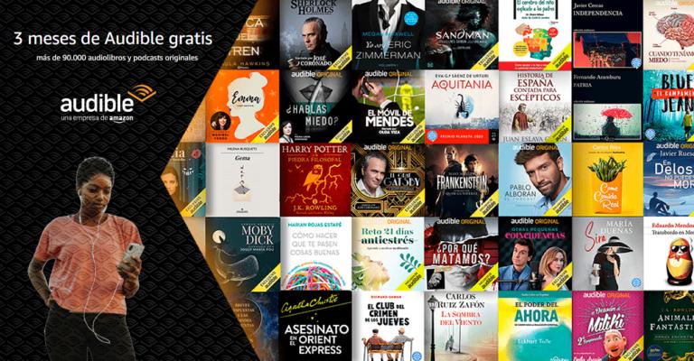 ¡TOMA CHOLLO! Así puedes conseguir 3 meses de Amazon Audible gratis.