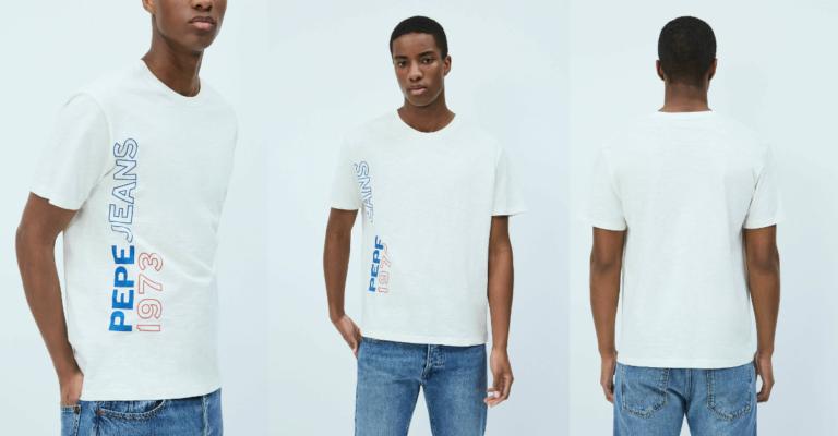 ¡TOMA CHOLLO! Camiseta Pepe Jeans Douglas solo 9 euros. 74% de descuento.