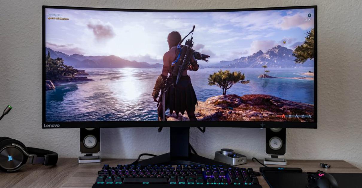 Monitor gaming Lenovo G34w-10 barato, ofertas en monitores gaming, monitores gaming baratos
