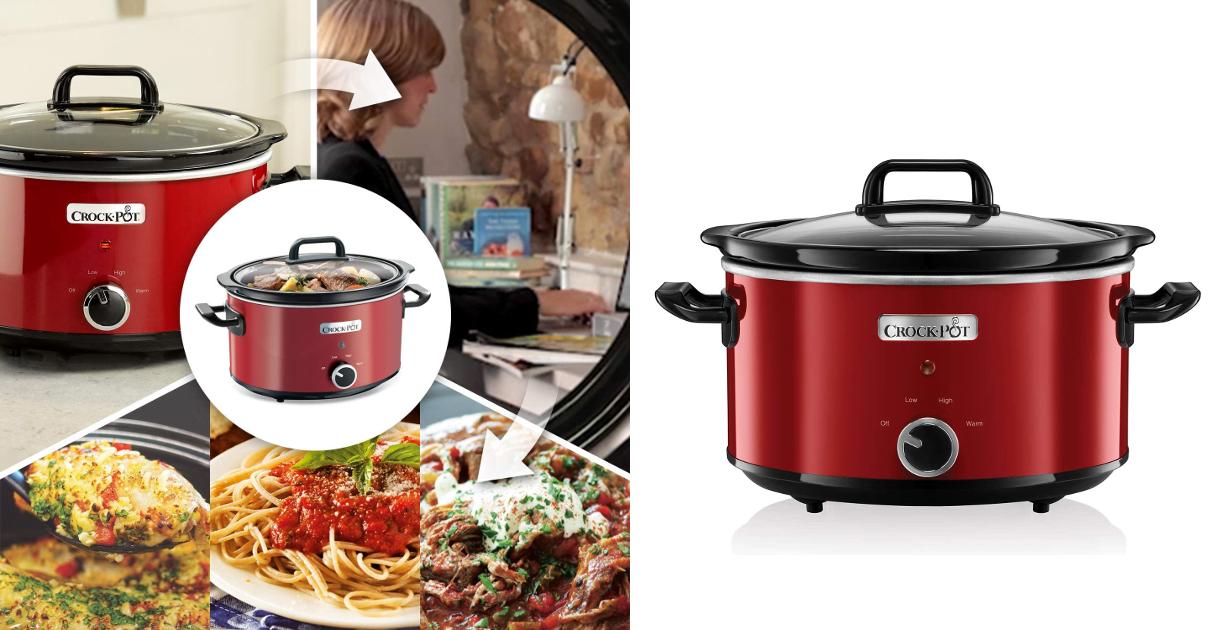 Olla de cocción lenta Crock-Pot SCV400RD barata, ofertas para el hogar