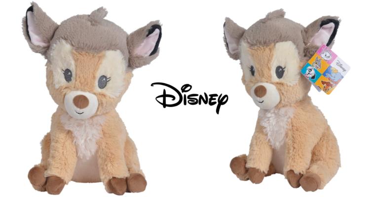¡TOMA CHOLLO! Peluche de Bambi de 50 cm de alto solo 15,59 euros. 61% de descuento.