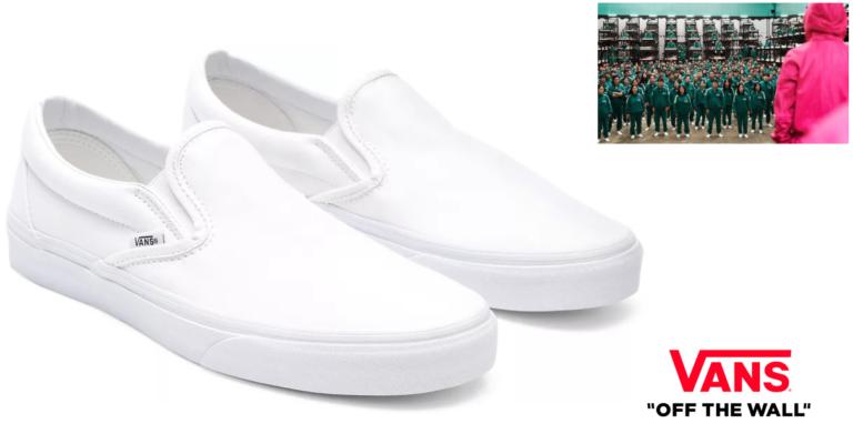 ¡TOMA CHOLLO! Zapatillas Vans Classic Slip On solo 30 euros. 53% de descuento. ¡Las de El Juego del Calamar!
