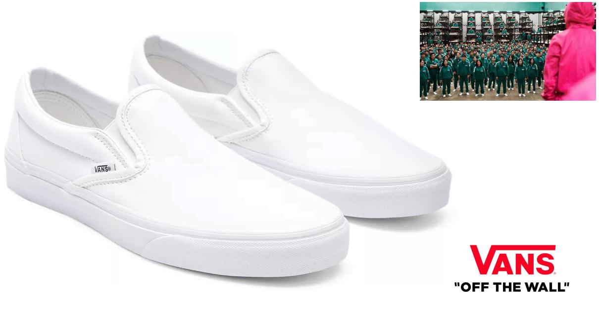 Comprar las zapatillas Vans Classic Slip On de El Juego del Calamar
