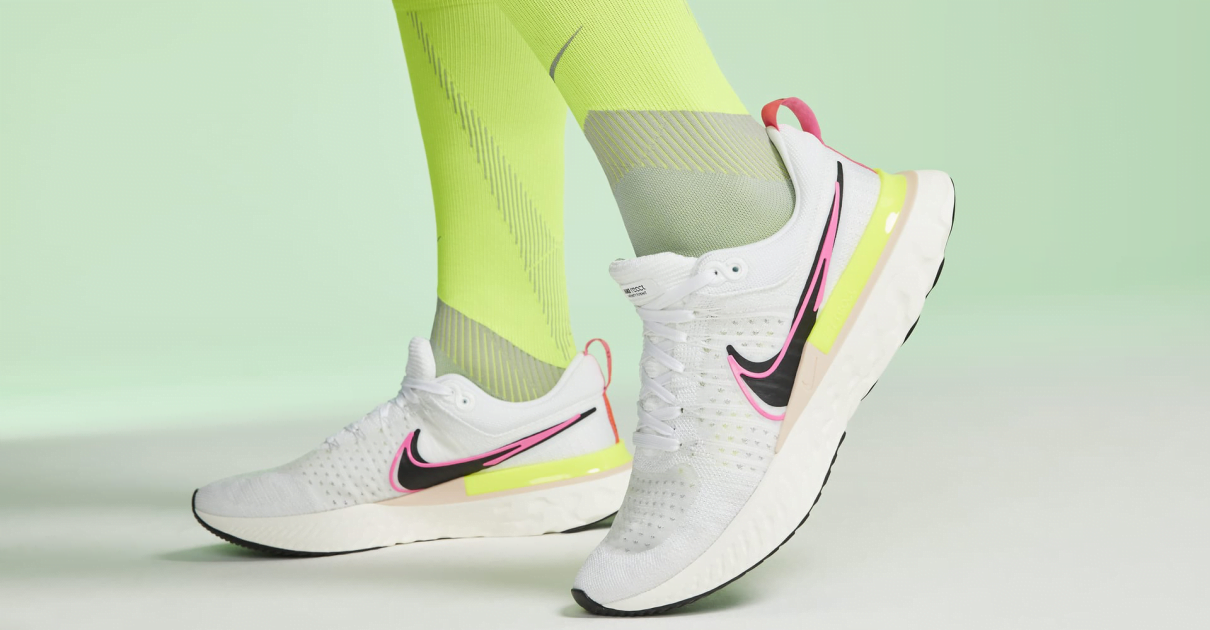 Zapatillas de running Nike React Infinity Run Flyknit 2 detalle